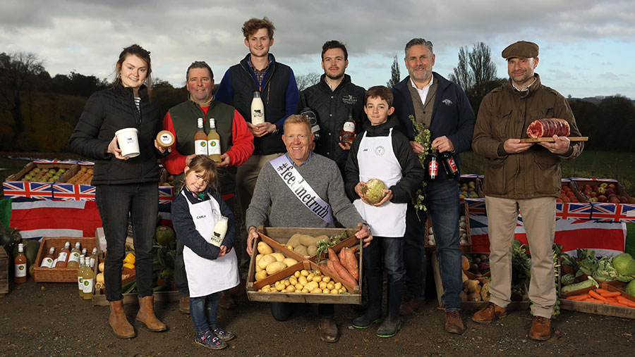 Happerley England food and drink producers