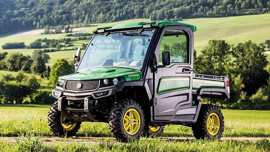 John Deere's Gator XUV gets further features and refinements in 865R form, including a revamped interior, roof and lighting