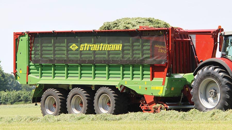 Magnon forage wagon