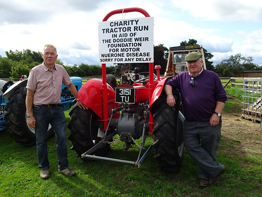 Nantwich Agricultural Society vice-chairman Geoff Callwood and deputy chairman Nigel Burrows