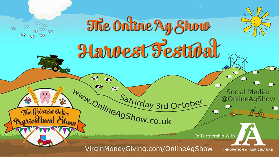 Online ag show poster