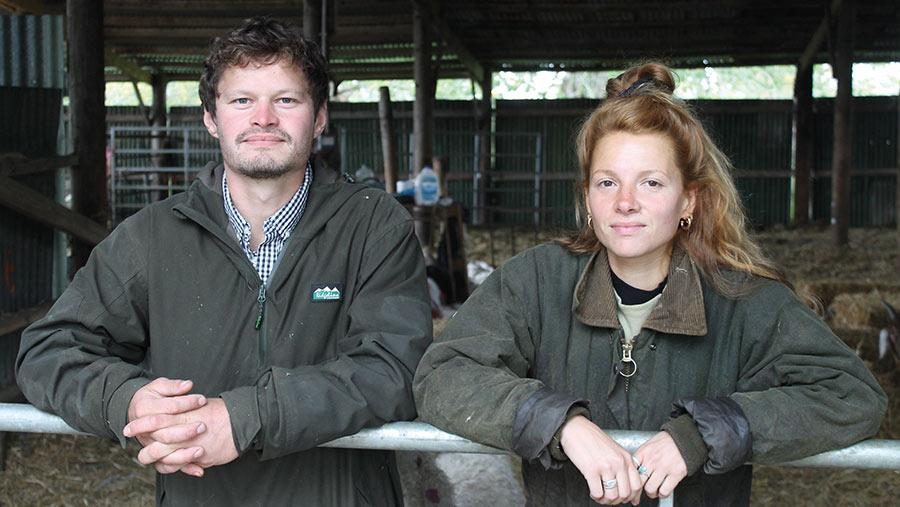 Chris Woodhead and Zoe Colville