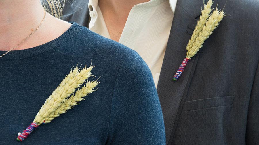 The Back British Farming lapel pin © NFU