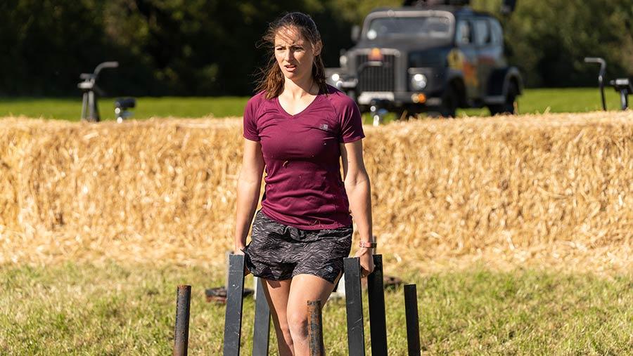 Britain's Fittest Farmer 2020 Emma Jackson © MAG/Tom Askew-Miller