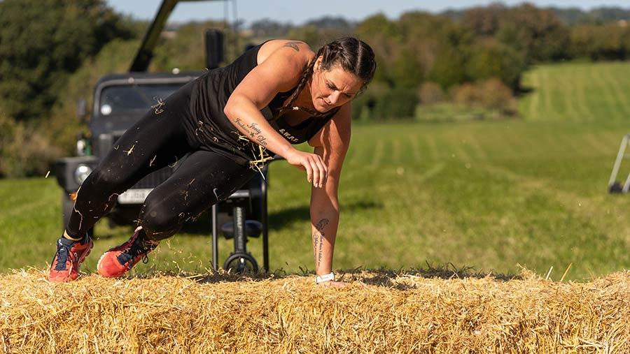 Britain's Fittest Farmer Erica Robison © MAG/Tom Askew-Miller