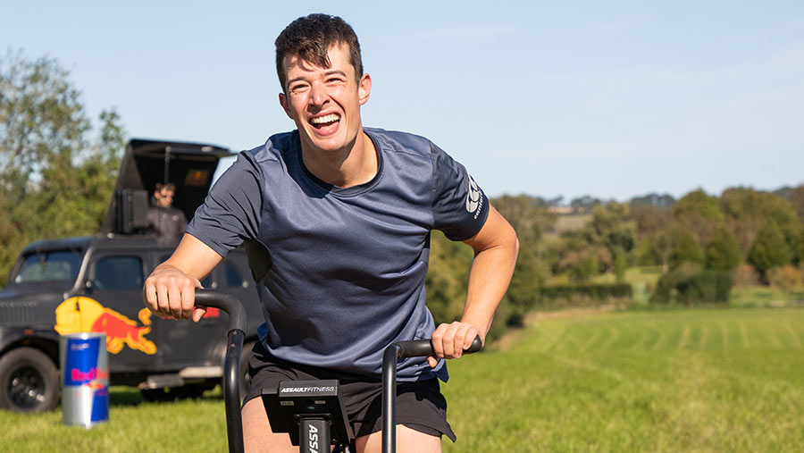 Britain's Fittest Farmer 2020 Henry Corp © MAG/Tom Askew-Miller