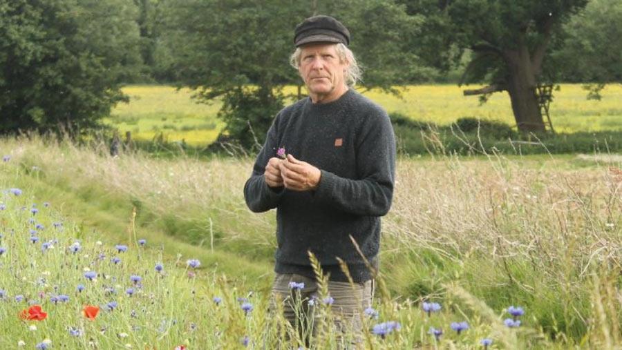 Organic farmer Iain Tolhurst
