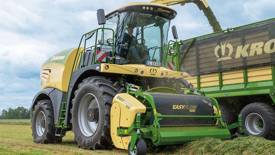 All Krone foragers are now fitted with the same cab