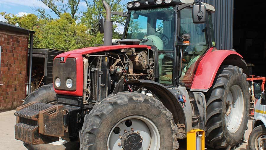 Massey Ferguson 6400-series tractor