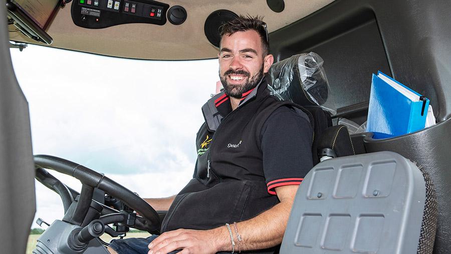 Matt Fuller, 2020 Farm Sprayer Operator of the Year © Geoff Ashcroft