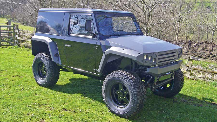 Ibex 4x4 short wheelbase F8