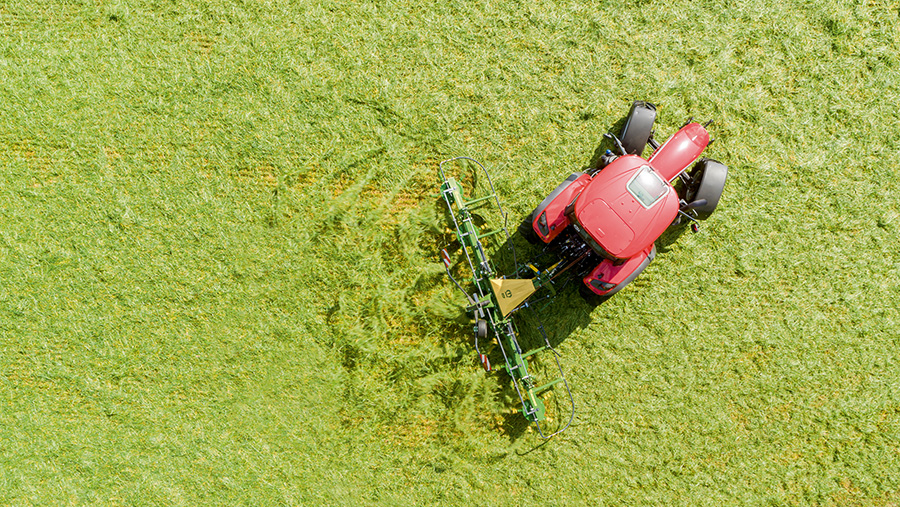 Aerial view of Vendro tedder