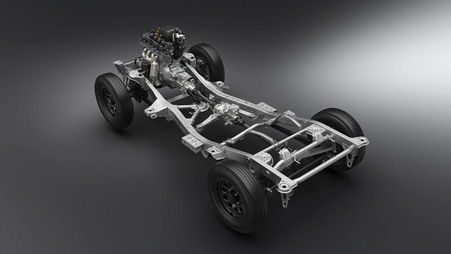 Suzuki Jimny body diagram