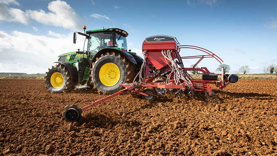 The squeeze for arable farms could come next spring © Tim Scrivener