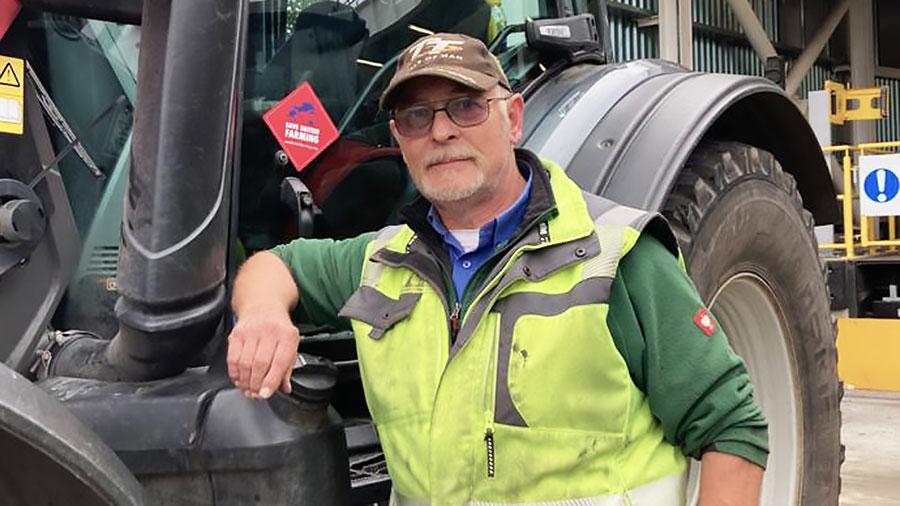 Albert Huber at the Save British Farming protest