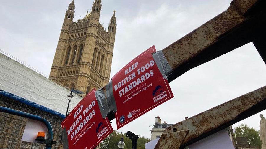 Save British Farming protest 12 October 2020 © MAG/Ed Henderson
