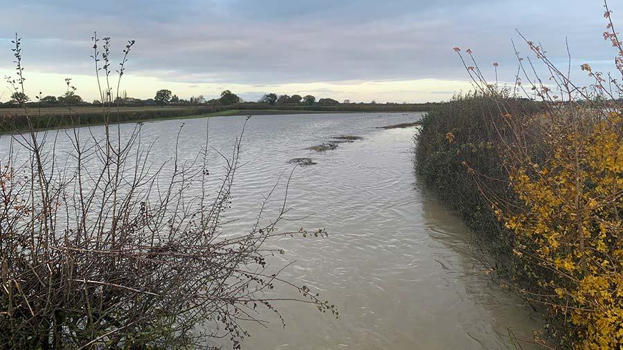 Flooded River Till