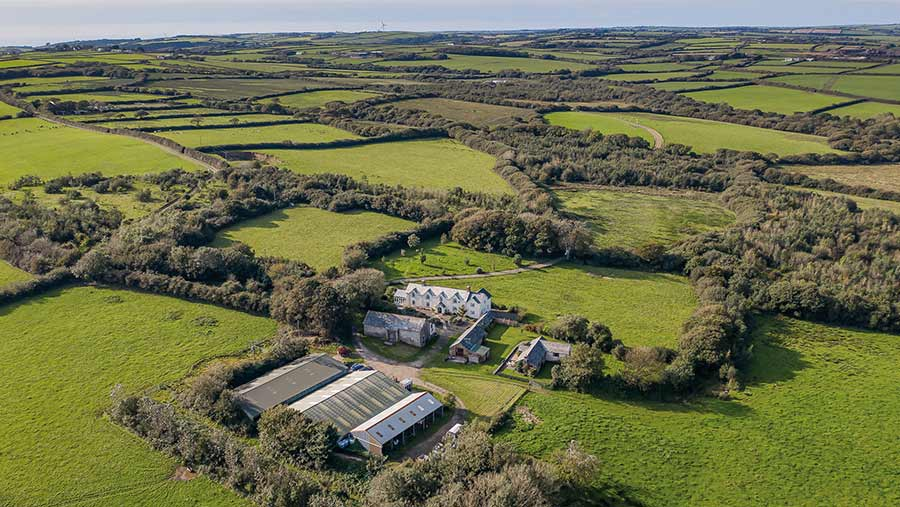 Great Moreton Farm, near Bude, Cornwall