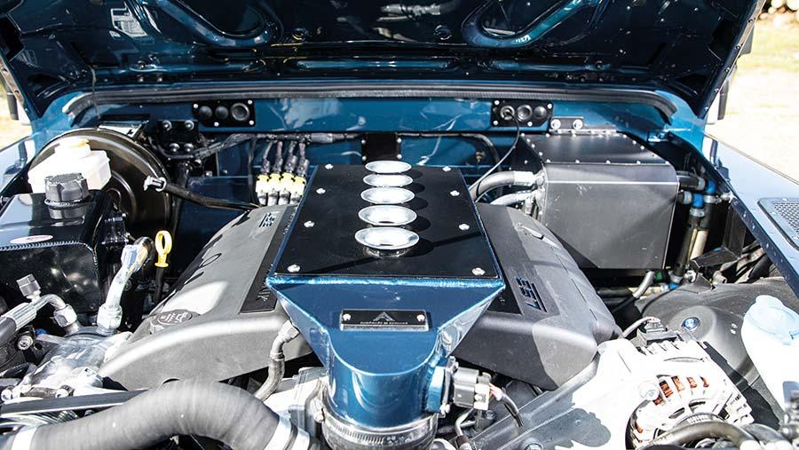 Arkonik Land Rover V8 engine