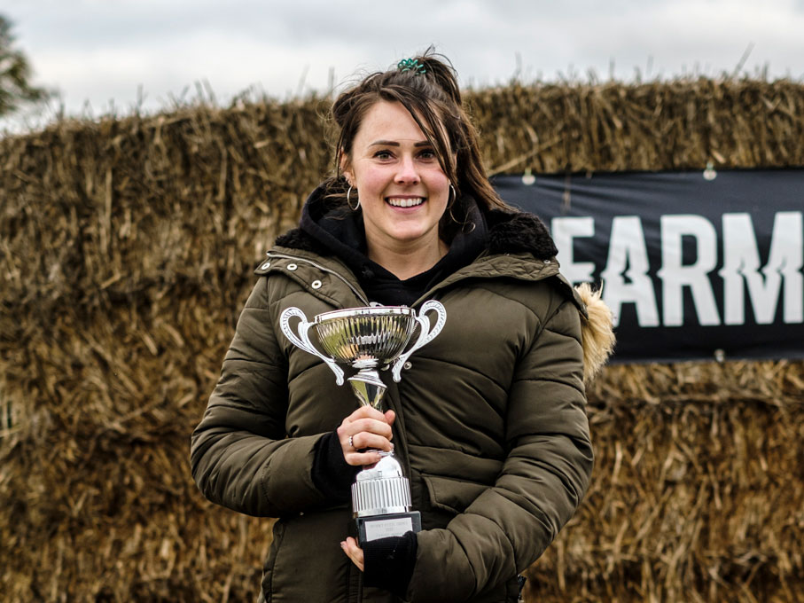 Winner of Britain's Fittest Farmer 2020 Emma Ashley © Colin Miller/MAG