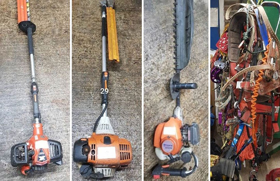Stolen tools