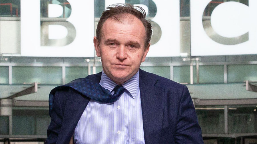 Mr Eustice at the BBC studios earlier this year © Shutterstock/Mark Thomas