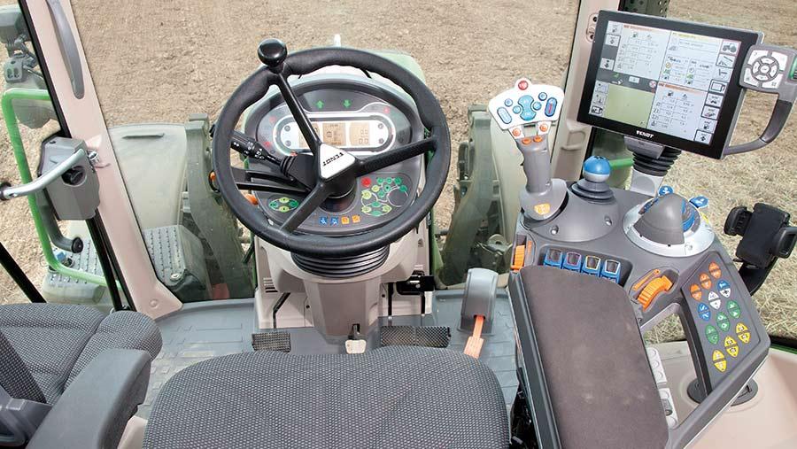 Fendt tractor cab