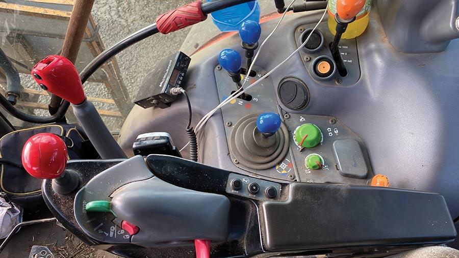 Same Iron 140S controls