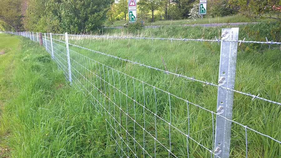 McVeigh Parker's Clipex fence posts