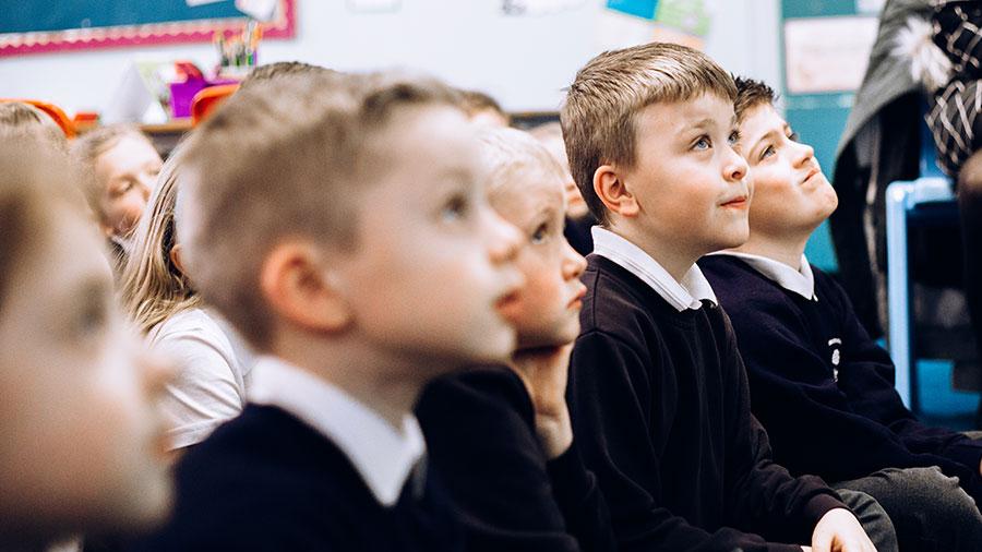Children at Washingborough Academy
