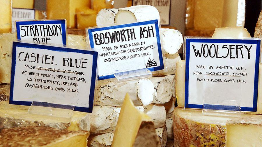 Neil's Yard cheese counter © Shutterstock