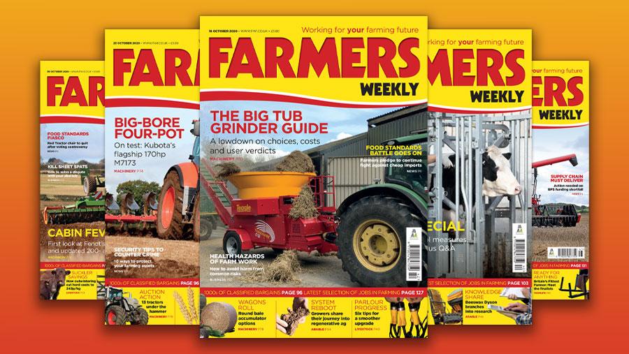 Farmers Weekly magazines