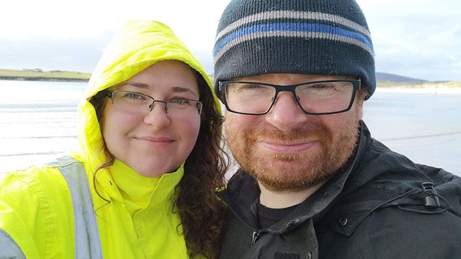 Briony Edwards and Melvin Hall © Briony Edwards