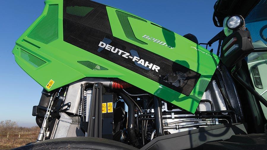 Deutz Fahr 8280 engine