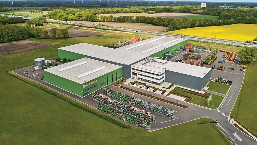Amazone's Bramsche machinery factory