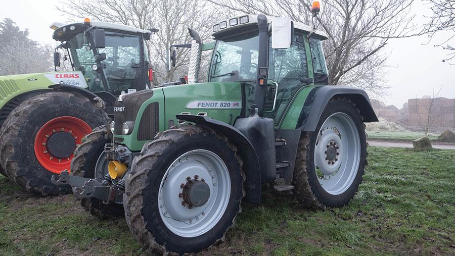 Fendt Vario tractor