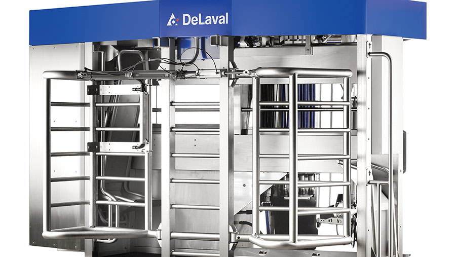 DeLaval VMS V300 milking system