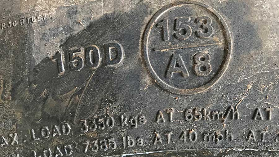 JCB Fastrac 2170 tyres