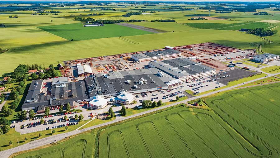 Vaderstad factory