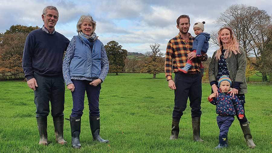 Jonathan Gibbins and family