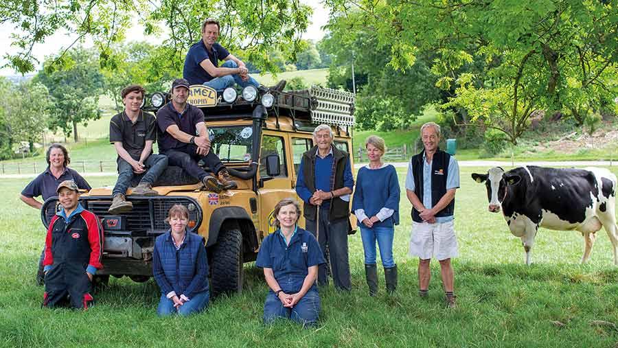 The Park Farm team