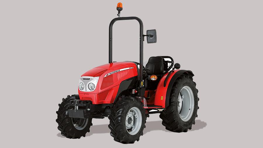 McCormick scraper tractor
