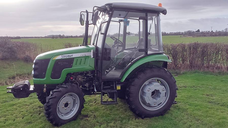 Siromer scraper tractor