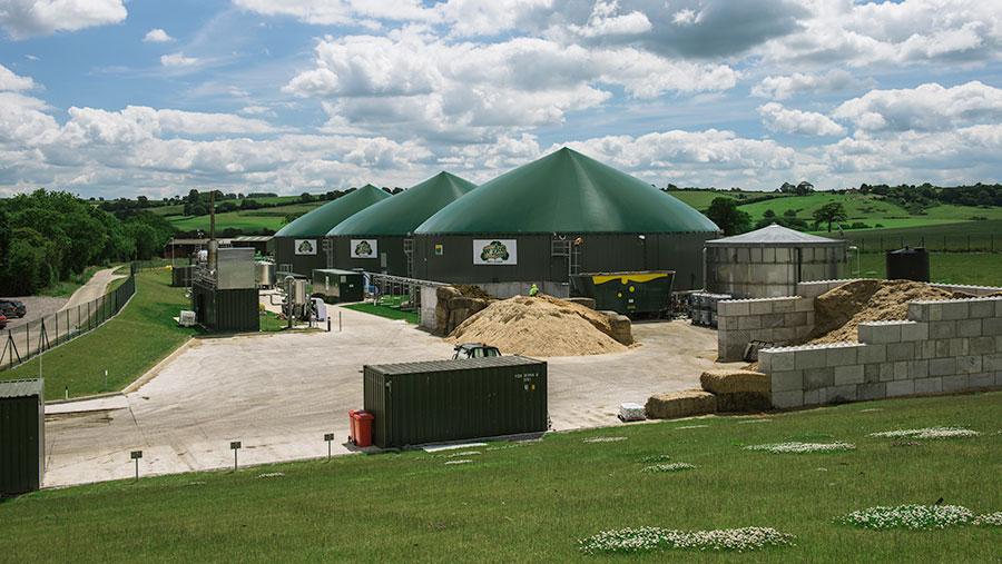 Wyke Farms biogas