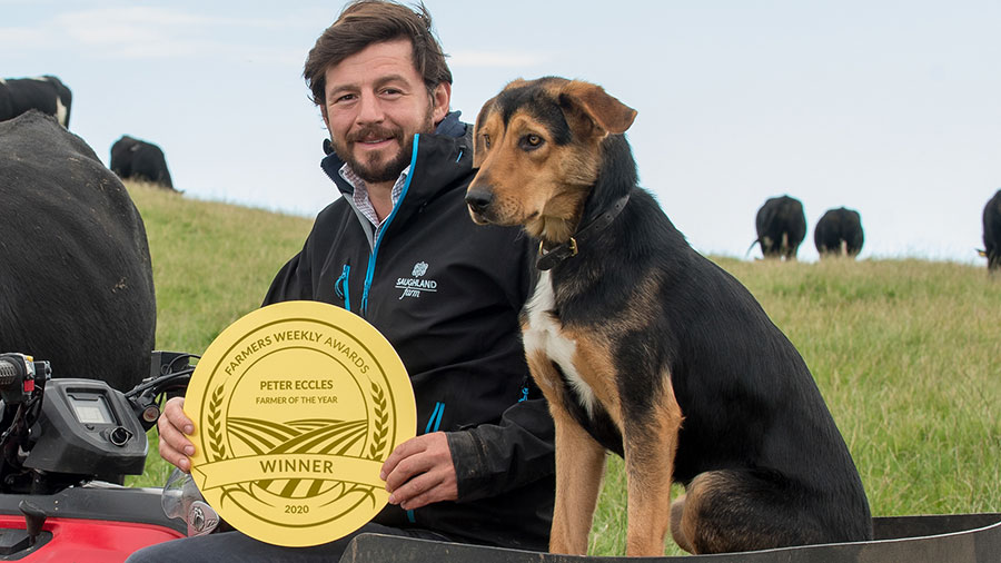Farmer of the Year 2020 Peter Eccles © Angus Findlay