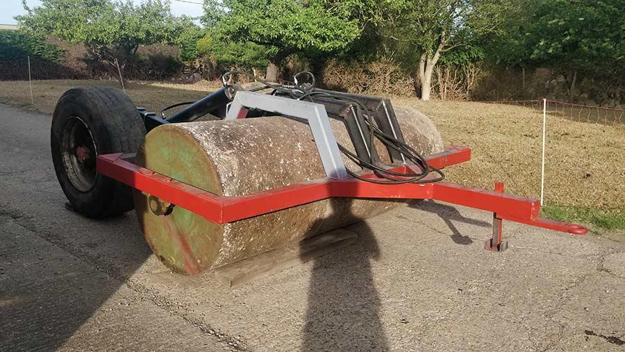 Ballast roller tow kit