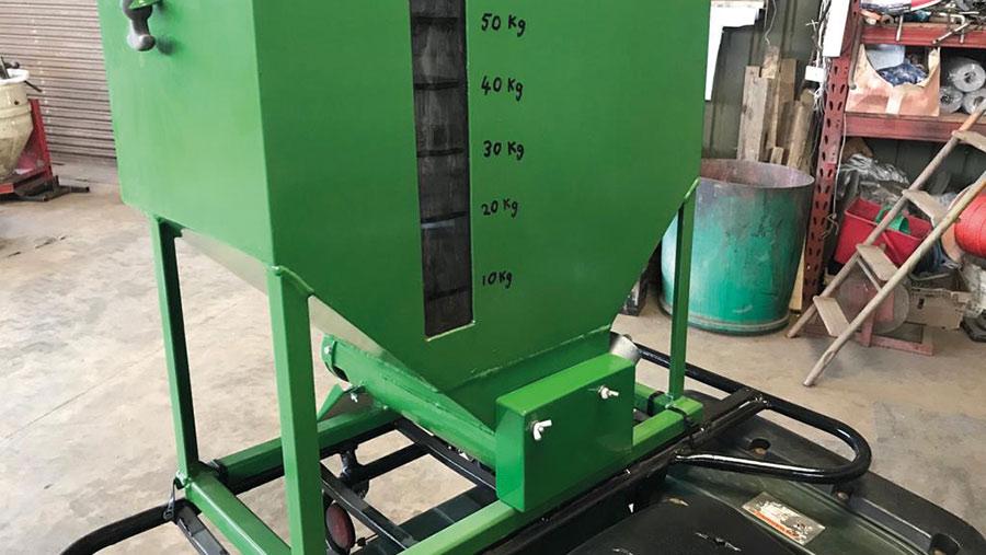 ATV-mounted feeder