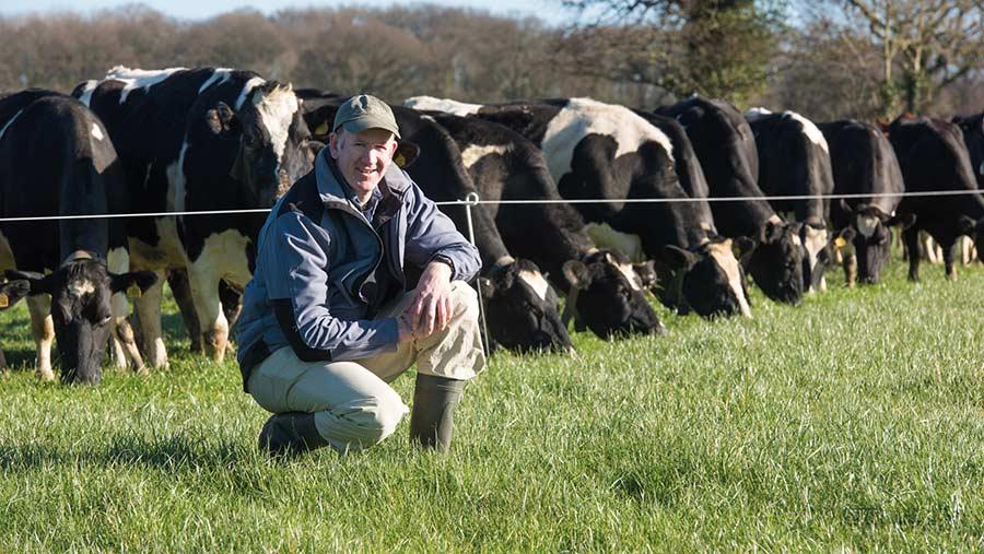 Shropshire organic farmer Tim Downes © AHDB
