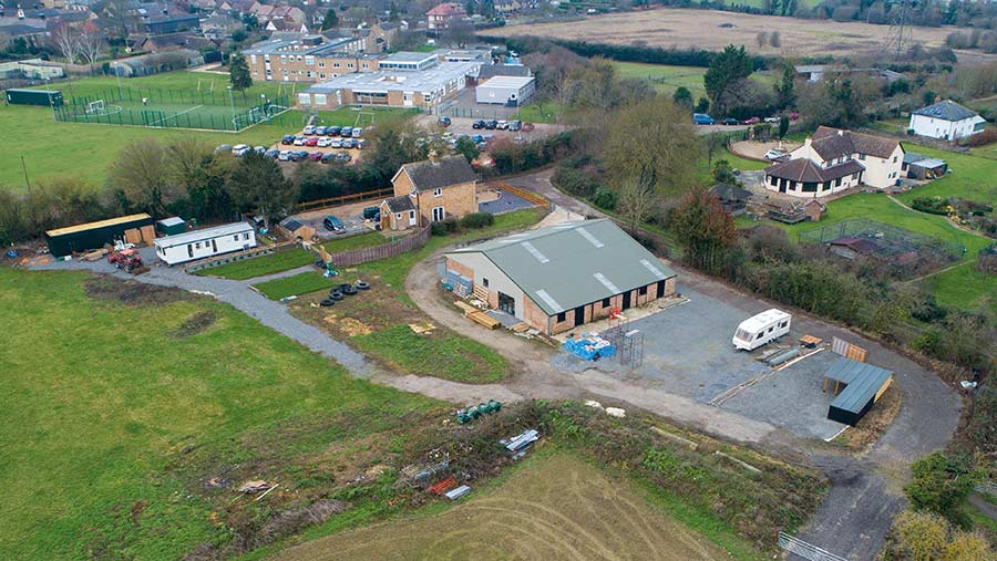 The decision to grant tenancy of Manor Farm to the council's deputy leader led to a two-year investigation © Terry Harris