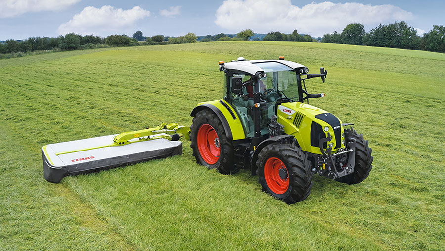 New Claas Arion 400